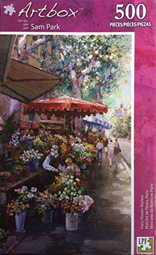 Artbox Puzzle ~ Paris Flower Market 500 Piece Puzzle (Sam Park) - 1