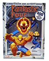 Fantastic Four Jumbo 400 Pages of Coloring And Activities Book!