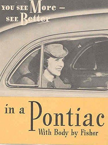 1940 Pontiac Fisher Safety Glass Brochure (Pontiac Glass compare prices)