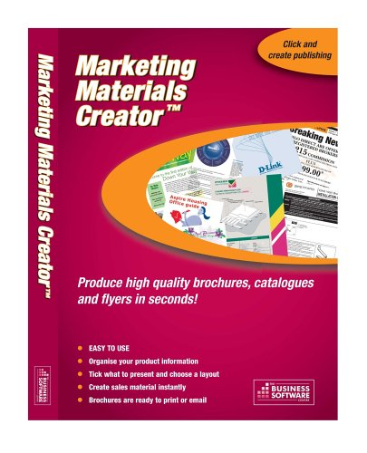 Marketing Materials Creator Premier (PC)