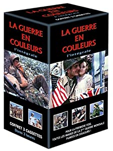La Guerre en couleurs : L'intégrale en 3 VHS