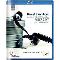 Mozart's Last 8 Piano Concertos [Blu-ray]