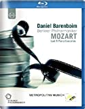 Daniel Barenboim spielt Mozart – Klavierkonzerte 20-27 [Blu-ray]