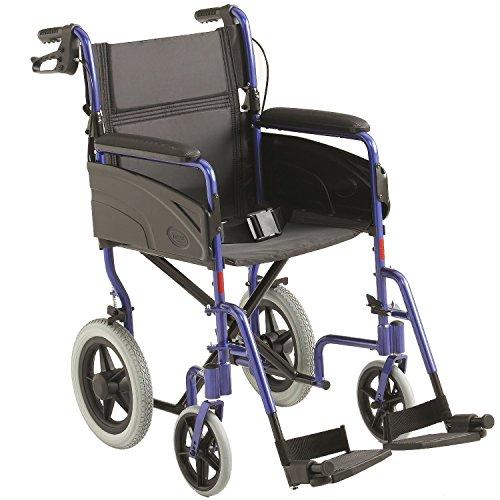 """Invacare: Leichte Alu Transit Rollstuhl - 16 """"Sitz breite"""