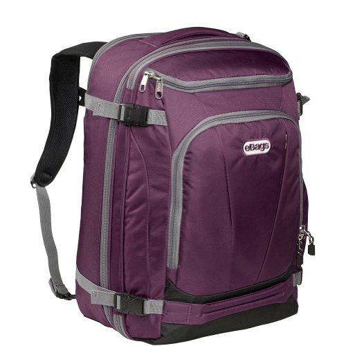 B00A7BEOSG eBags TLS Mother Lode Weekender Convertible Junior (Eggplant)