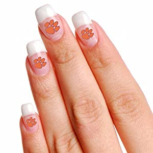 Buy NCAA Clemson Tigers 4-Pack Temporary Nail Tattoos by WinCraft