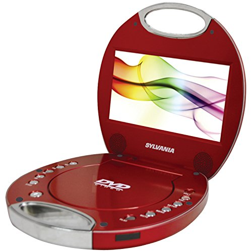 Sylvania SDVD7046-Red 7-Inch Portable Photo
