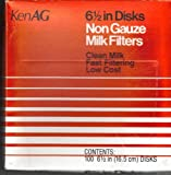 Ken Ag Nongauze Disk Tan 6.5 Inch - D110 - 100 count