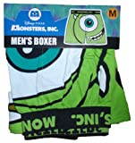 Disney Monsters Inc Mike Wazowski Licensed Graphic Boxer Shorts