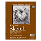 Picture Of Strathmore Series 400 Sketch Pads 9 in. x 12 in. – pad of 100 Review
