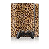 Leopard Spots Design Protector Skin Decal Sticker for PS3 Playstation 3 Body Console
