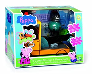 Amazon.com: Peppa Pig The Grandpa Dog's Wrecker Playset toy: Toys