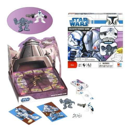 Star Wars Galactic Heroes Game Clone Trooper vs Super Battle Droid