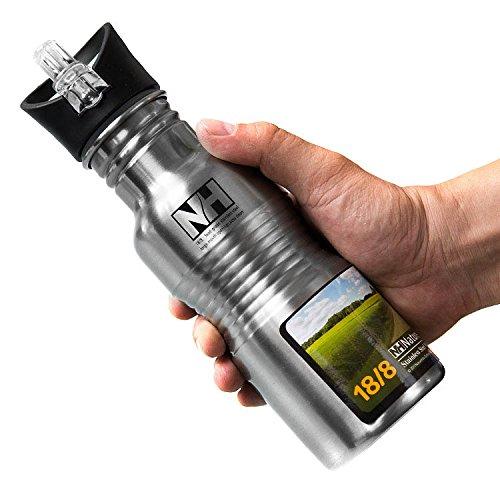 Stainless Steel Bottle Camping Bottle Water Bottle 500Ml front-381078