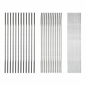 SKIL 80182 Plain End Scroll Saw Blade Set, 36 Piece from Skil