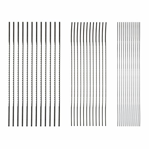 SKIL 80182 Plain End Scroll Saw Blade Set, 36 Piece (Dewalt Scroll Saw Blades compare prices)