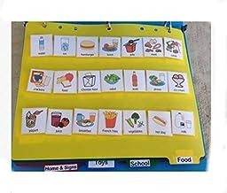 Visual Schedule Picture Exchange Communication Book 150 PECS children Autism