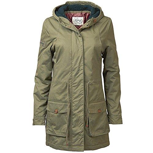 Khaki Firetrap Damen Alyssa Parka Jacke Khaki online kaufen