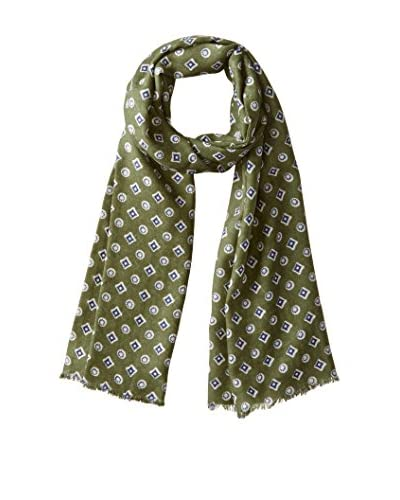 J.McLaughlin Men's Chartwell Wool Scarf, Olive