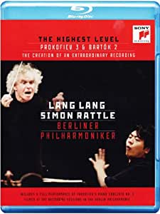 Lang Lang - The Highest Level: Documentary on the Recording & Prokofiev: Piano Concerto No. 3 [Blu-ray]