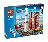 Lego City bundle includes: City - Space Centre - 3368 + City - Satellite Launch Pad - 3366