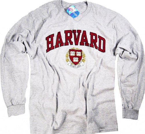 Officially Licensed by Harvard University -  Felpa  - Uomo Grigio XXL