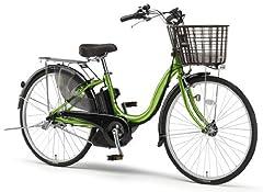 YAMAHA(ヤマハ) PAS ナチュラS 26インチ 電動自転車 2014年モデル [5.0Ahバッテリー、内装3段変速、オートライト機能、急速充電器付き] マスカットグリーン PM26NS