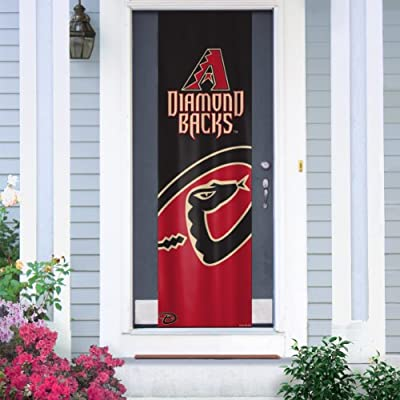 MLB Arizona Diamondbacks Team Color and Logo Door Banner