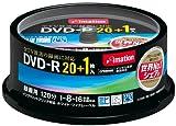 Imation 録画用DVD-R CPRM対応 1-16倍速対応 インクジェットプリンタ対応(ホワイト・ワイドディスク) 21枚スピンドルパック DVDR120PWBC21S
