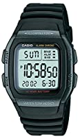 Casio Youth Black Dial Men's Watch - W-96H-1BVDF (D054)