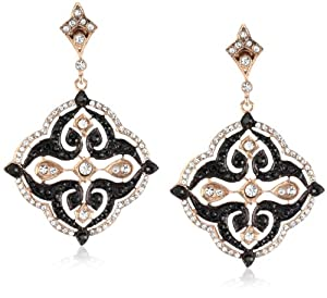 "Azaara ""Crystal"" Rose Gold Earrings"