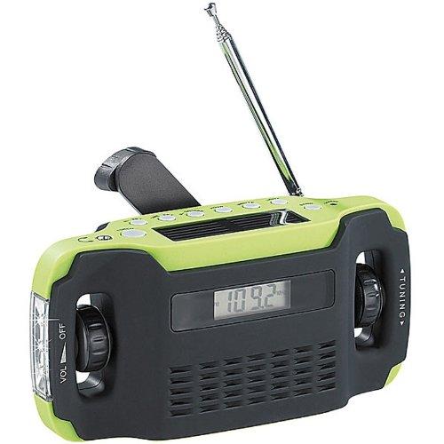 Solar-USB-Dynamo Kurbel FM/AM Koffer Radio mit