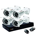 Puffin 8-CH HDCVI Dvr (With 7 HD 720P Night Vision Bullet Cameras)