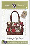 Bow Tucks Quilted Bag Pattern by Penny Sturges