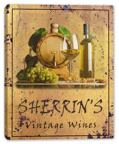 sherrins-family-name-vintage-wines-canvas-print-24-x-30