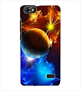 ColourCraft Beautiful Waterfall Design Back Case Cover for HUAWEI G PLAY MINI