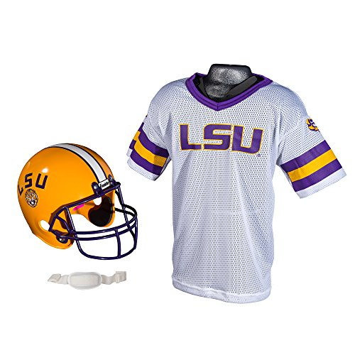NCAA LSU Tigers Youth Helmet Jersey Set