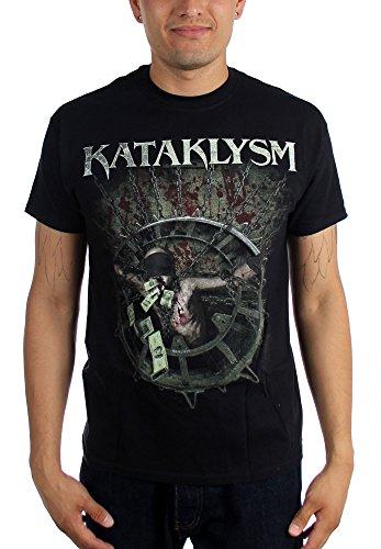 Kataklysm corruzione-Maglietta da uomo, colore: nero nero Medium