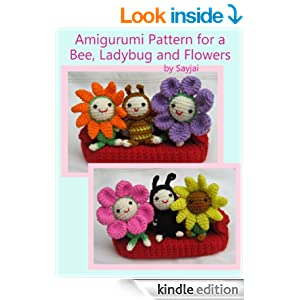 Amigurumi Pattern Reading : Amazon.com: Amigurumi Pattern for a Bee, Ladybug and ...