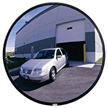 See All Circular Glass Heavy Duty Outdoor Convex Security Mirror