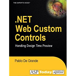 .NET Web Custom Controls: Handling Design Time Preview Pablo De Grande