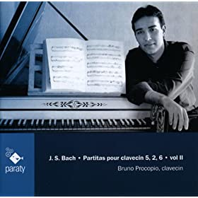Bach: Partitas pour clavecin 5, 2, 6, Vol II