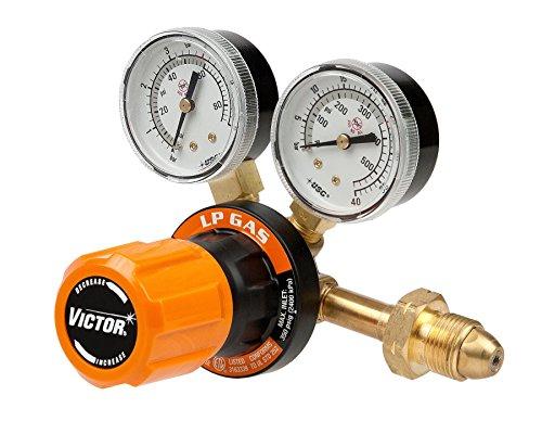 Victor Technologies 0781-9410 G250-60-510LP Medium Duty Single Stage L.P. Gas Regulator, 60 psig Delivery Range, CGA 510 Inlet Connection (Lp Gas Range Regulator compare prices)