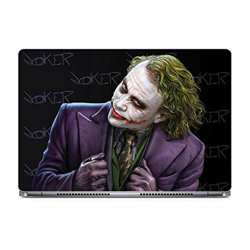 Warner Bros Posterboy Batman, Joker Black Laptop Skin