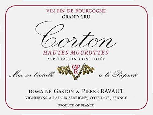 2010 Domaine Ravaut: Corton Grand Cru Hautes Mourottes 750 Ml