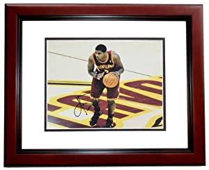 Kyrie Irving Autographed Hand Signed Cleveland Cavaliers 11x14 Photo - MAHOGANY... by Real+Deal+Memorabilia