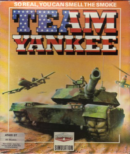 Team Yankee Computer Game Atari ST 1990
