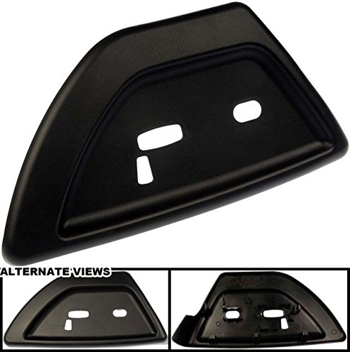 APDTY 035671 Power Seat Switch Panel Trim Bezel Black