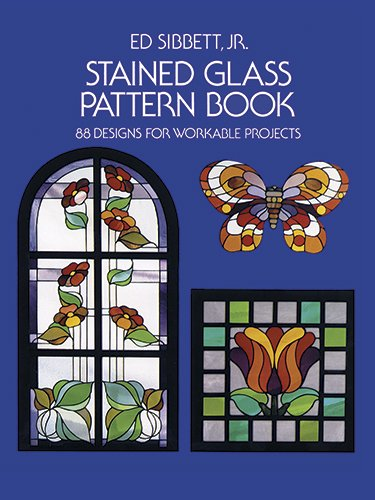 Stained Glass Pattern Book: 88 Designs for Workable Projects (Picture Archives)