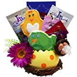 Spring Favorites Bird Nest Cookies and Tea Gift Basket